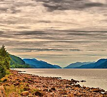 Loch Ness View by Chris Thaxter