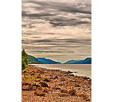 Loch Ness View Photographic Print