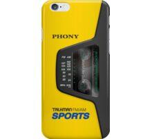 Phony Talkman (Sony Walkman Sports) iPhone Case/Skin