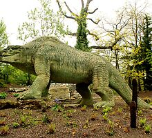 London - Crystal Palace - Dinosaur by rsangsterkelly