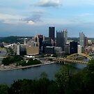 Pittsburgh Skyline  by Chris  Hayworth