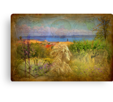 mind travelling Canvas Print