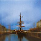 Little Tall Ship by Denise Ab