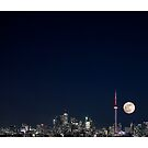 Supermoon over Toronto by RichardGottardo
