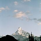 fishtail mountain by Nancy Miller