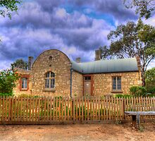The Station Masters House - Goolwa, South Australia by Mark Richards