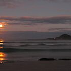supermoon, redbill beach. eastcoast, tasmania by tim buckley | bodhiimages photography