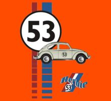 Herbie 53 VW bug beetle Kids Clothes