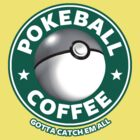 PokeBall coffee by bomdesignz