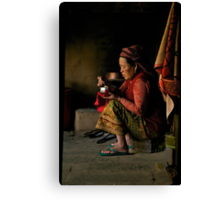 Annapurna Lady Canvas Print