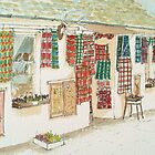 Tartan Shop - Luss, Scotland by Lynne  M Kirby BA(Hons)