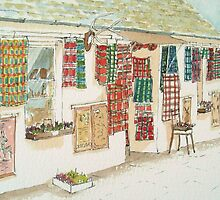 Tartan Shop - Luss, Scotland by Lynne  Kirby