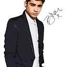 Zayn Malik Canvas Art with Autograph by kmercury
