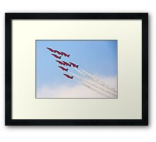 Red Arrows - Reach for the Sky Framed Print