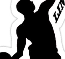 Derrick rose- Limitless Black Sticker