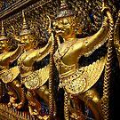 Grand Palace in Bangkok by skellyfish