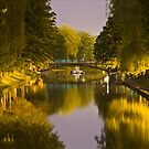 Night canal - landscape long exposure by Nick Mooney