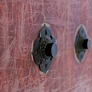 Old Temple Door by skellyfish