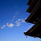 Towering Pagoda by skellyfish