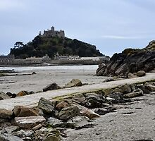 National Trust -St Michaels Mount,  Cornwall by lynn carter