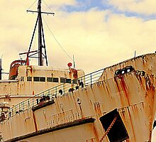TSS Duke of Lancaster by Stan Owen