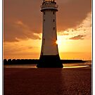 Lighthouse Sunset 2 by Pamsar