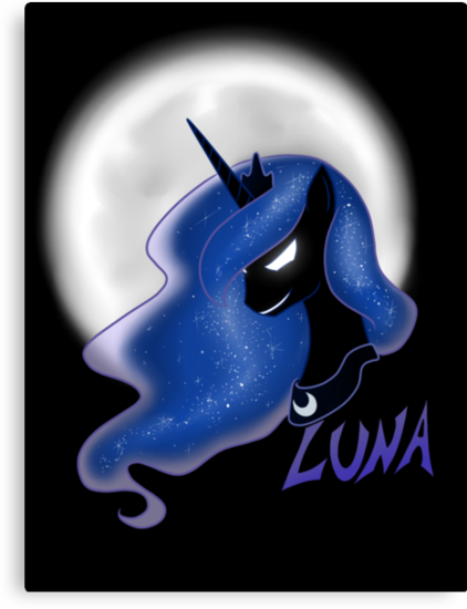 Luna (With text) by Anorexitosh