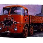 ERF KV portrait. by Mike Jeffries