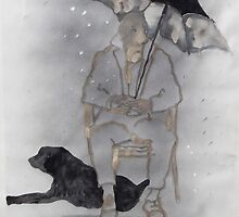 On a rainy day by lillo