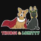 Thorgi &Lokitty by sophiedoodle