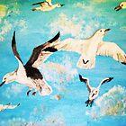 Hungry Gulls by Jennifer Ingram