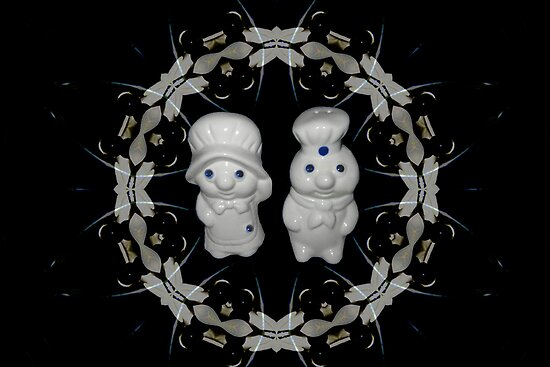 *•.¸♥♥¸.•*MY PILSBURY DOUGH BOY DOUGH GIRL SALT & PEPPERS SHAKERS*•.¸♥♥¸.•* by ╰⊰✿ℒᵒᶹᵉ Bonita✿⊱╮ Lalonde✿⊱╮