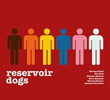 Reservoir Dogs Poster (Unfiltered) by Trapper Dixon