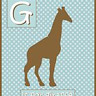 """G"" is for Giraffe by runninragged"