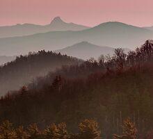 Blue Ridge Sunset by RayDevlin