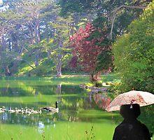 Stow Lake Morning Walk by David Denny