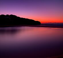 Sunrise at North Curl Curl Surf Club by Andrew  MCKENZIE