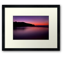 Sunrise at North Curl Curl Surf Club Framed Print