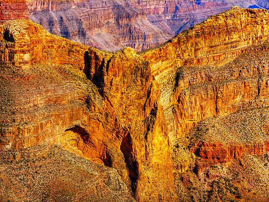Eagle Rock - Grand Canyon by Chris Brunton