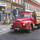 "Morris ""Corona soft drinks"" lorry. by Mike Jeffries"