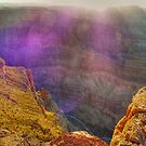 Purple haze - catching the sunset at the Grand Canyon by Christina Brunton