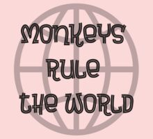 Monkeys rule the world by Artmassage