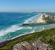 Gold Coast Coastline by DarthIndy