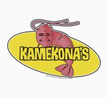 Kamekona's Shrimp logo from Hawaii 5-0 S2 (Outline) by Sharknose