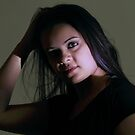 A portrait in light & shadow. by debjyotinayak
