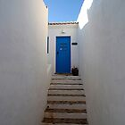 Blue Door at Pedralva by A3Art