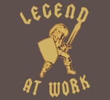 Zelda Legend At Work Gold and Brown iPhone Case Kids Clothes