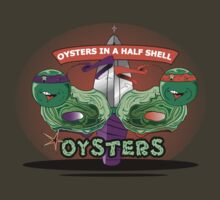 Oysters In A Half shell Alternate by Chefleclef