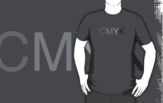 CMYK in B/W by John Perlock