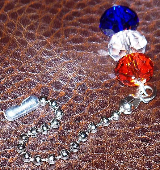Auburn Colored Pull Chain by dragonindenver